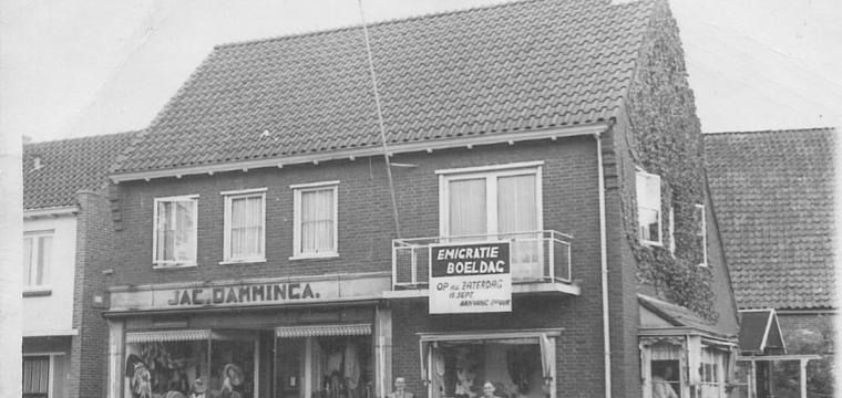 1956 EMIGRATIE UITVERKOOP